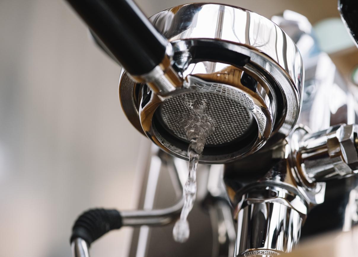 save water, drink espresso